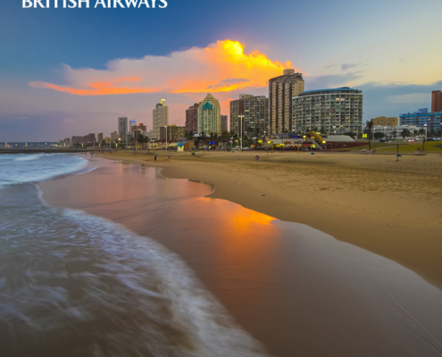 British Airways neues Ziel Durban