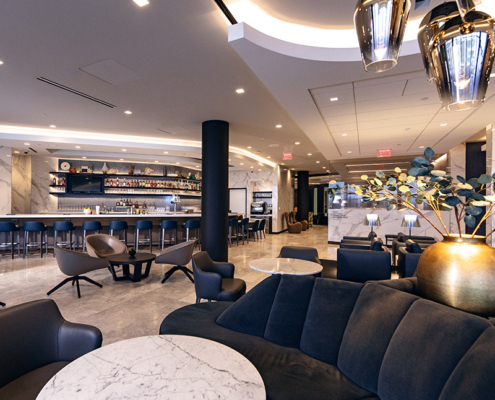 United Polaris Lounge am Los Angeles Intern. Airport